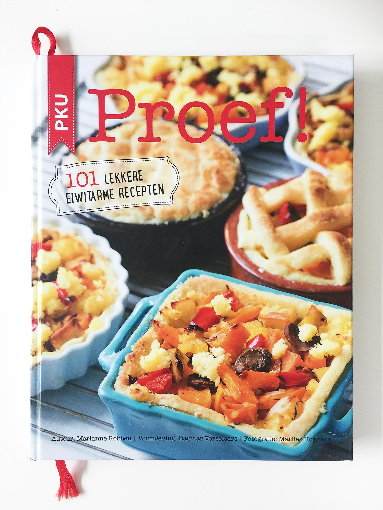 glossy kookboek met eiwitarme recepten